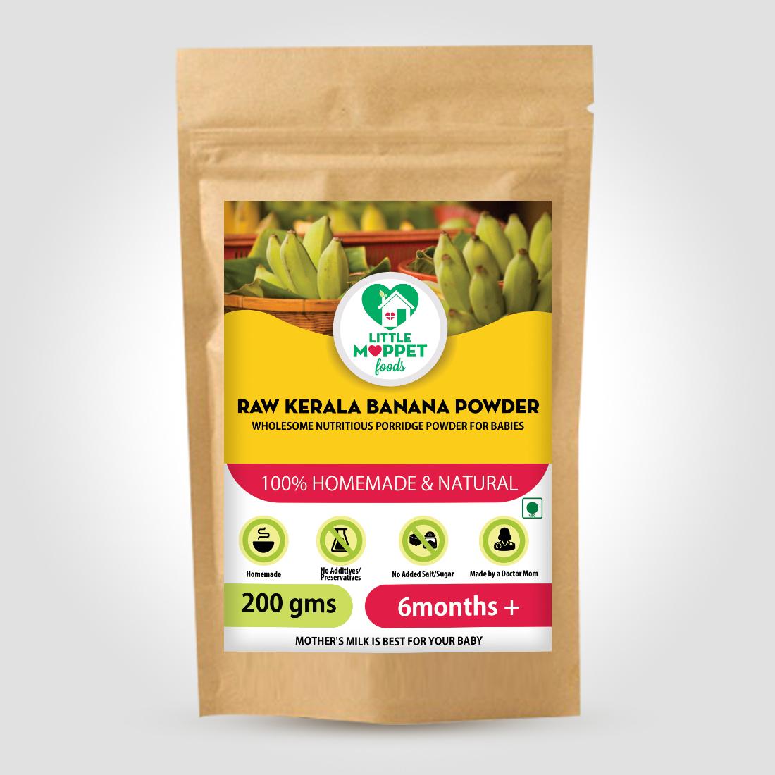 Raw Kerala Banana Powder