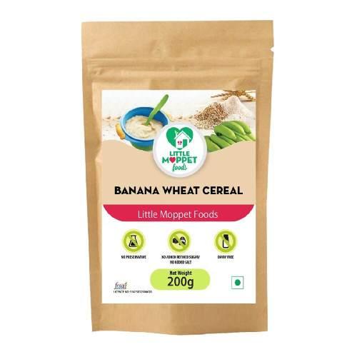 Banana Wheat Cereal 200g