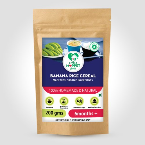 Banana Rice Cereal is a highly energizing baby food with a high calorie content and the elaichi flavor. Best food which Introduces babies to complex flavors