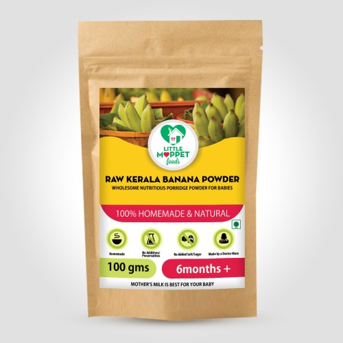 Raw Kerala Banana Powder