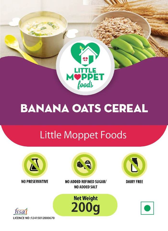 Banana Oats Cereal 200g