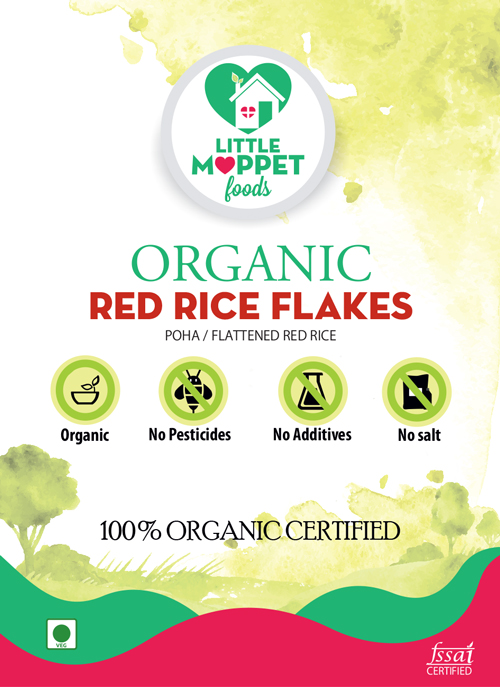 buy organic red rice poha flattened red rice online india