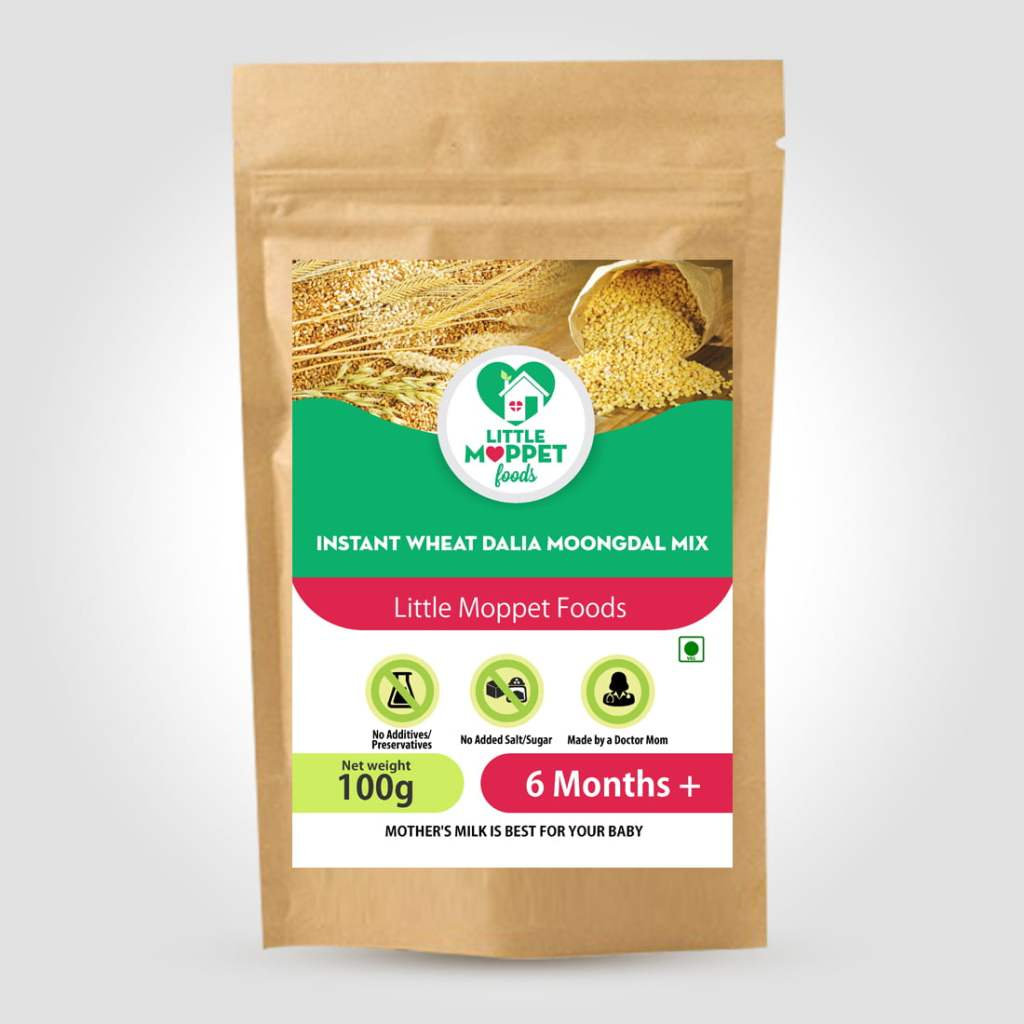 Instant Wheat Dalia Moongdal Mix
