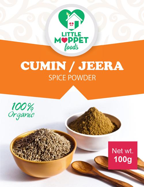 Organic Cumin Powder for Babies