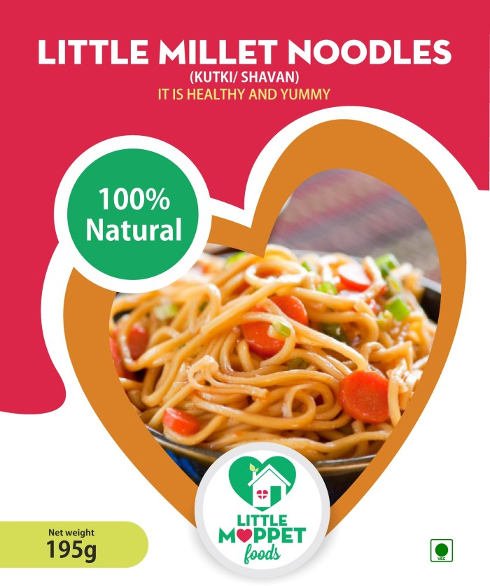 Little Millet Noodles is a healthy noodles which is not only easily digestible but also prevents constipation, bloating and gas.