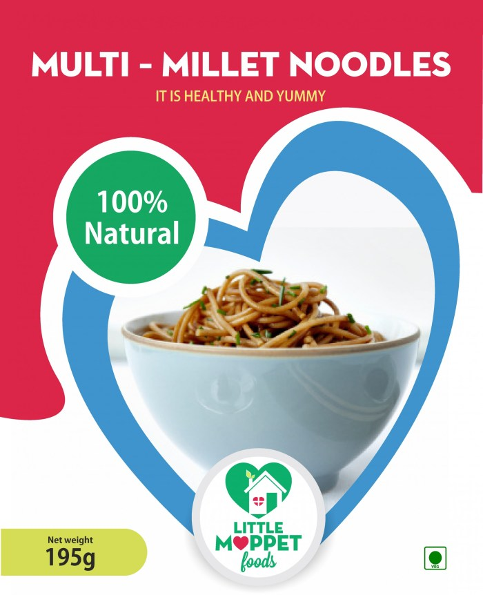 Multi millet Noodles combo of five millet varieties which are loaded with protein, calcium, dietary fiber and several essential minerals.
