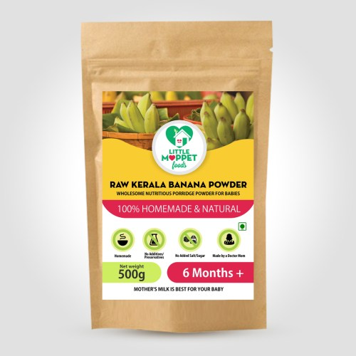 Raw Kerala Banana Powder 500g