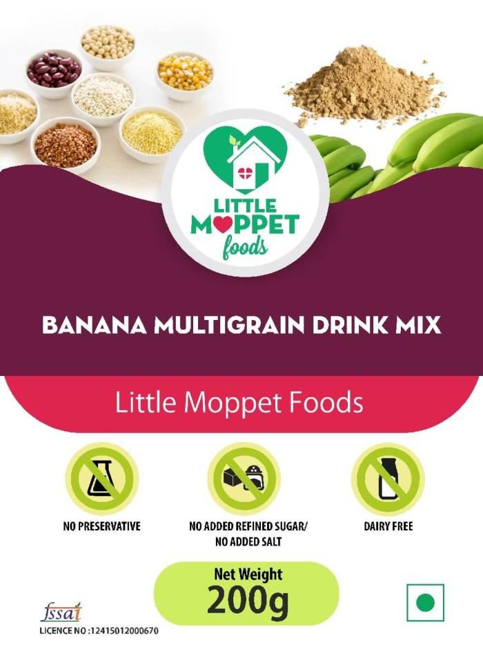 Banana Multigrain Drink Mix