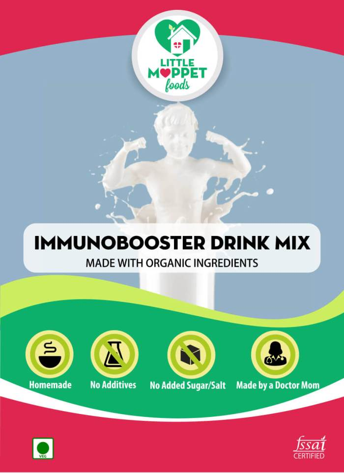 natural homemade immunobooster drink for kids