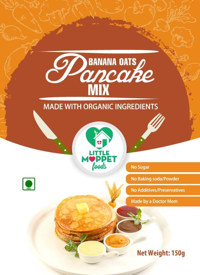 Instant Banana Pancake Mix for Babies