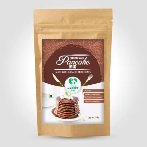 Instant Choco Ragi Pancake Mix for Babies