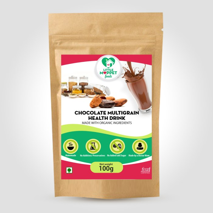 Choco-Multigrain Health Drink is an authentic chocolatey health mix which prevents malnutrition and helps in healthy brain and body development.