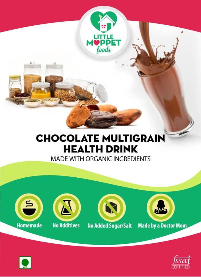 Buy Chocolate Multigrain Health Drink Online India