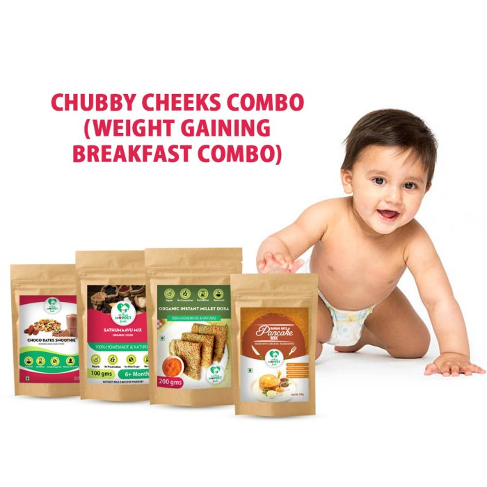 weight gaining combo for babies and kids