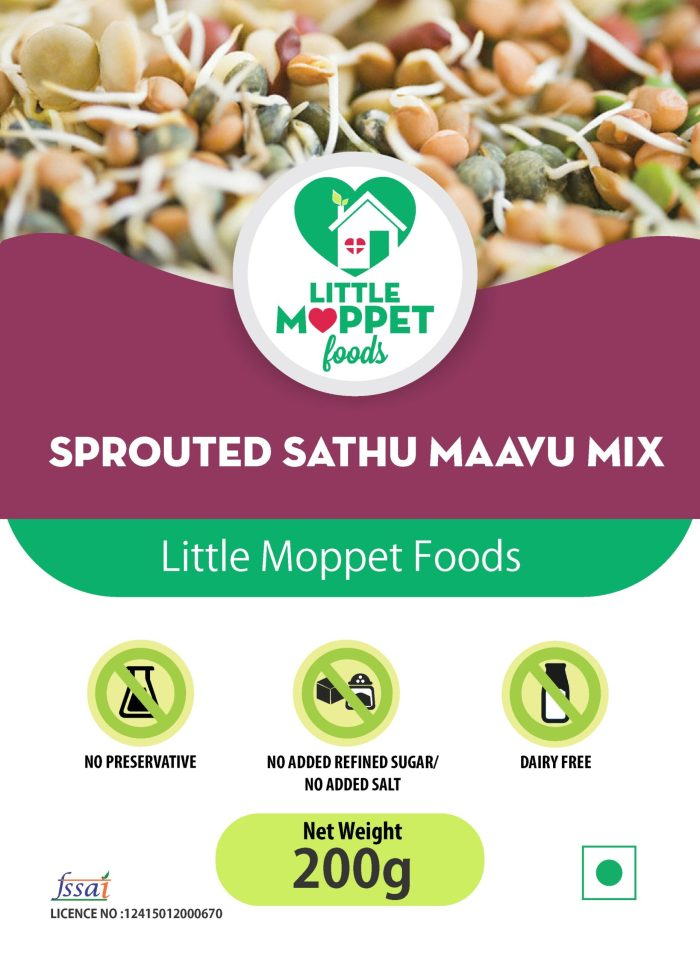 Sprouted Sathumaavu Health mix for babies