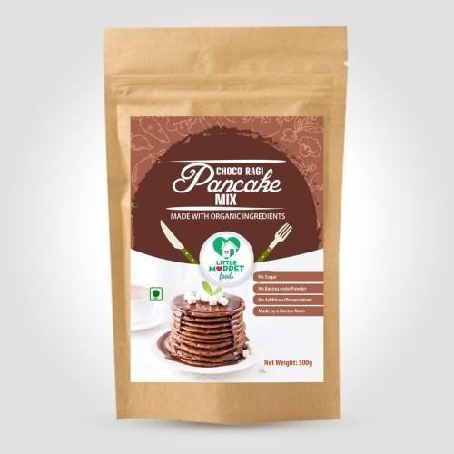 Choco Ragi Pancake