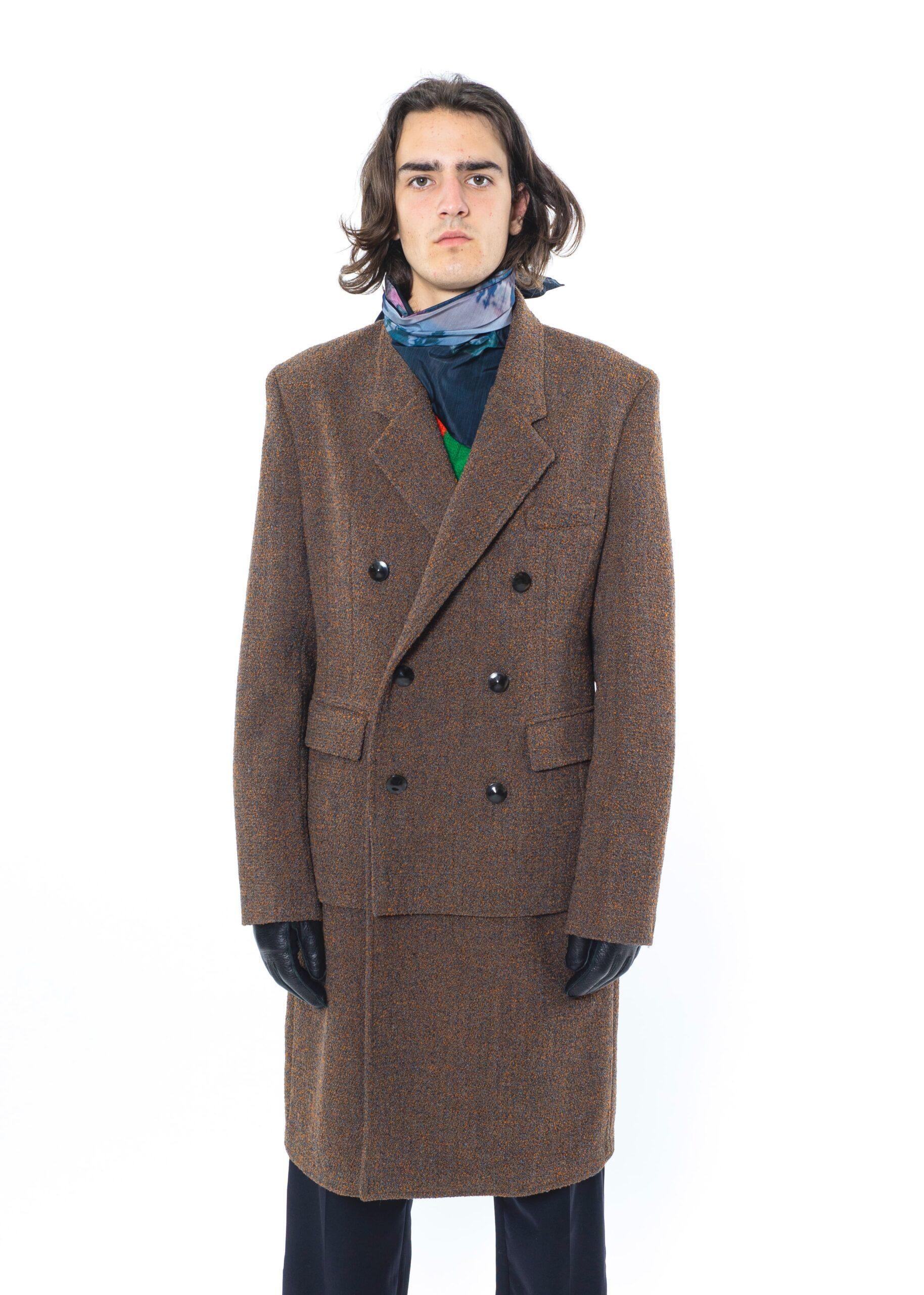 Namacheko AW20 Hannagan Brown Boucle Coat