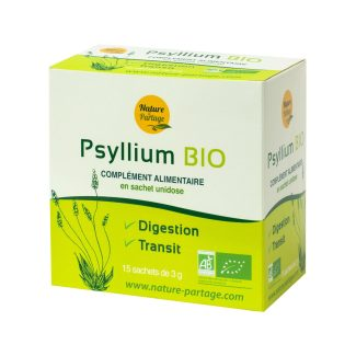 Organic psyllium in sachet