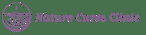 Purple logo nature cures store