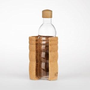 Nachhaltige, plastikfreie Trinkflasche