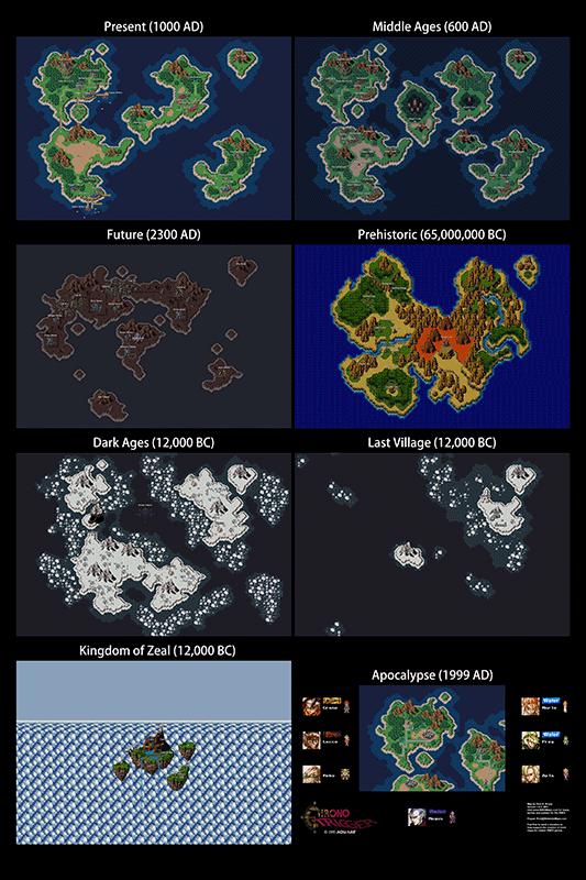 Chrono Trigger All Overworlds 24