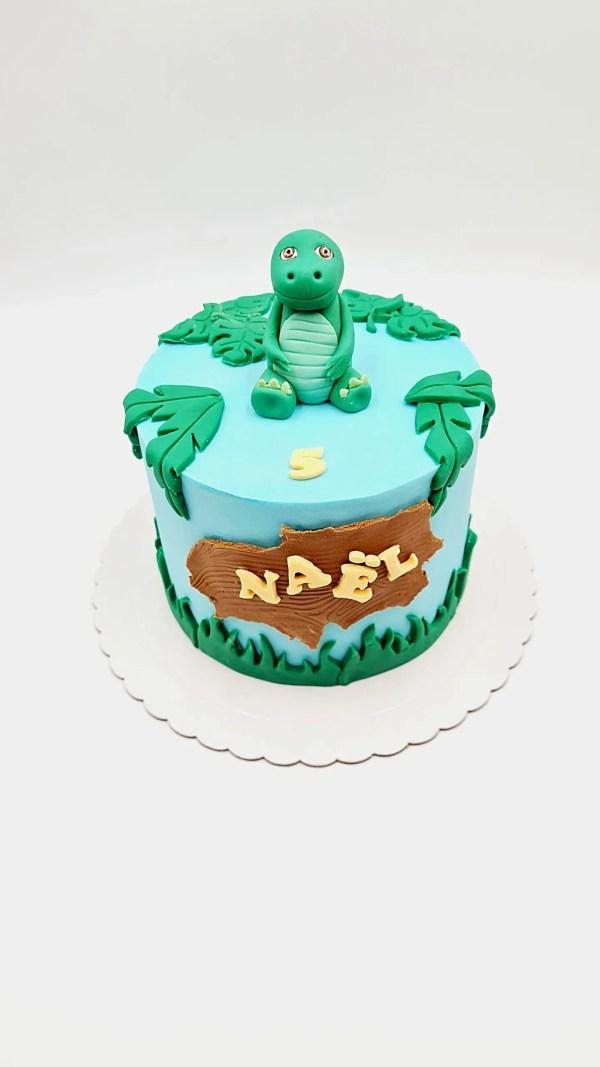 dinosaure cake design