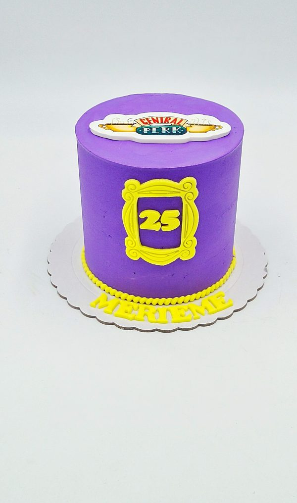 friend cake design layer cake