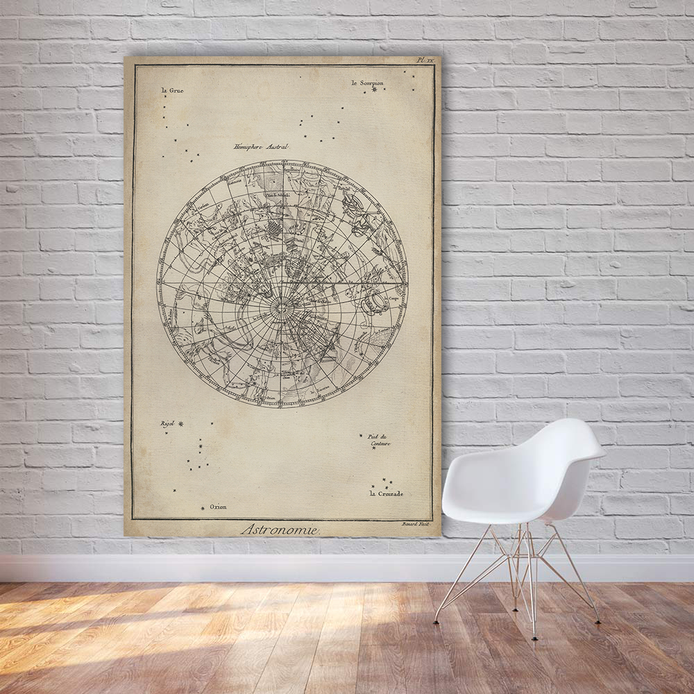 Retro world map wall art large frameless poster number 25 online store retro world map wall art large frameless poster or gumiabroncs Images