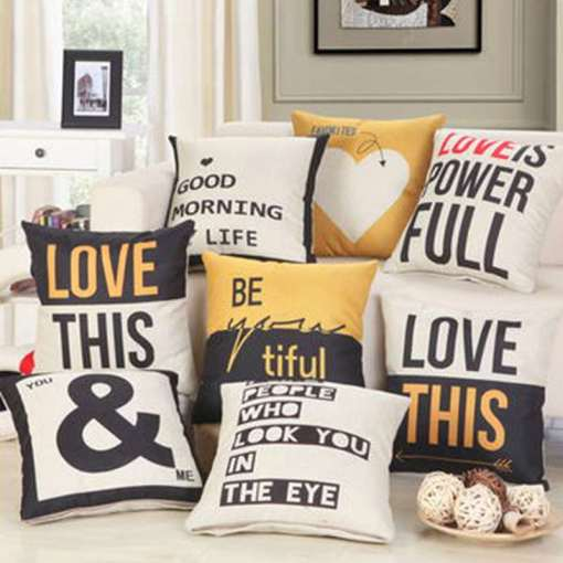 Emotive Vintage Style Decorative Chic Pillow Covers