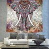 Uproarious Indian Elephant Mandala Bohemian Wall Hanging