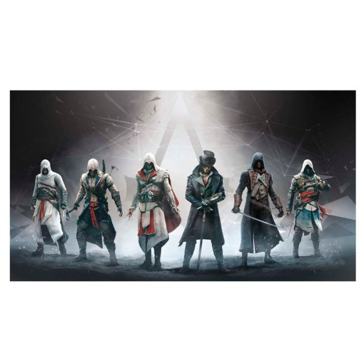 Collectors Item Assassins Creed Video Game Frameless Wall Poster