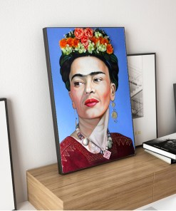 Formidable Frida Kahlo Portrait Collection Frameless Poster