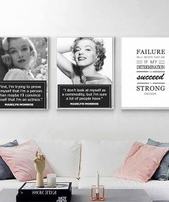 Inspiring & Motivational Life Quotes Modular Wall Art Poster Set