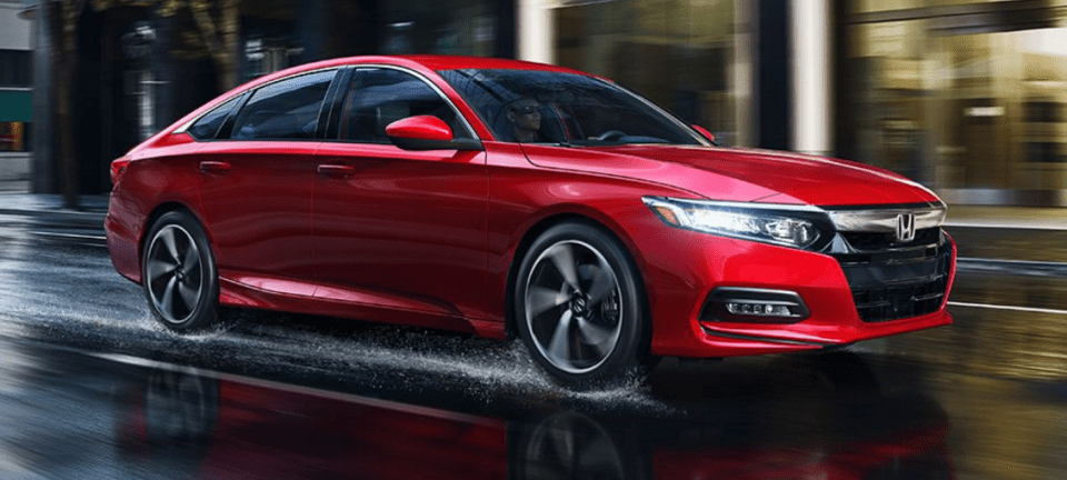 2018 Honda Accord Exterior Red