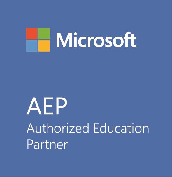 Print Official Logo AEP Microsoft
