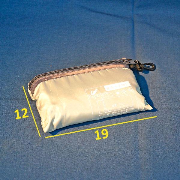 Schalfsack zusammen gepackt