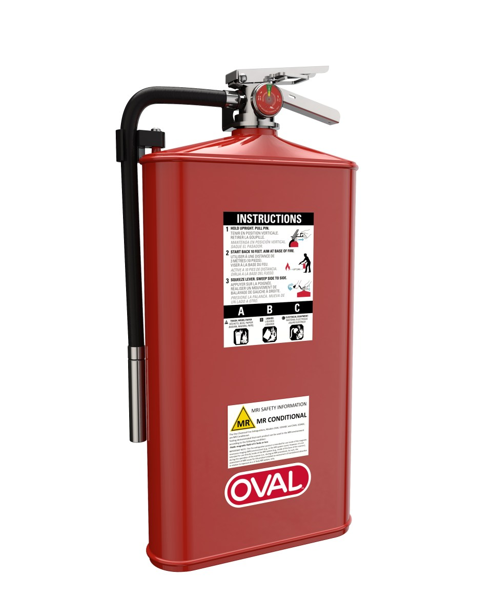 Oval Brand Fire Products Model 10JABC-MR Left