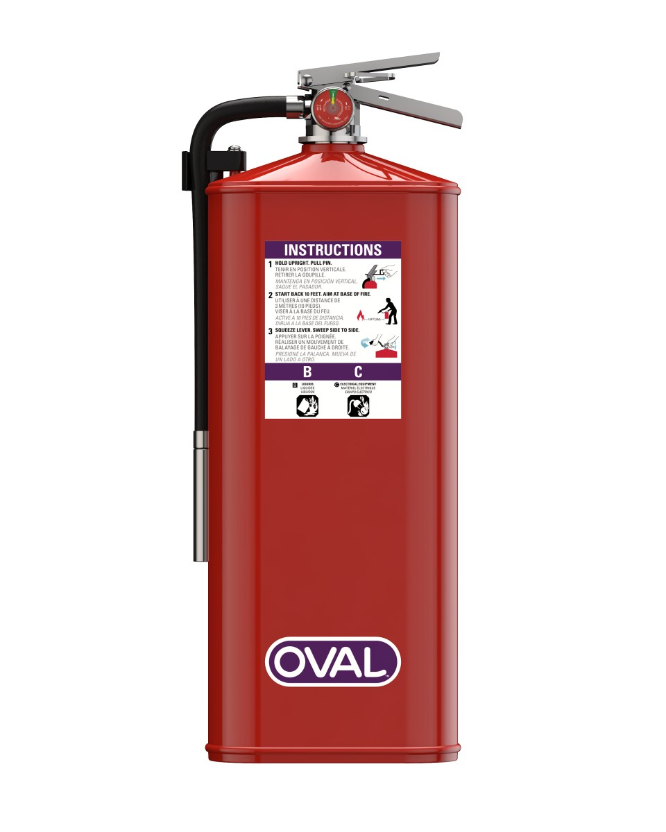 Oval Brand Fire Products Model 10HPKP Front