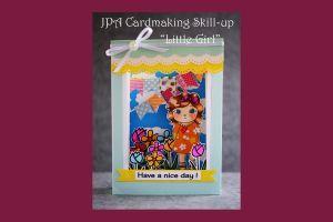 本部講師:友近由紀 スキルアップ講座 Little Girl(3Dカード)
