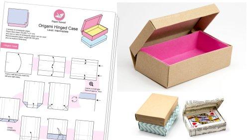 Origami Diagrams & E-books via @paper_kawaii