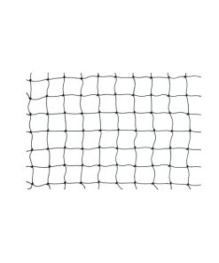 Netz schwarz PE 30 x 30mm flammschutz B1