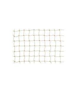 Netz steinfarben PE 30 x 30mm flammschutz B1