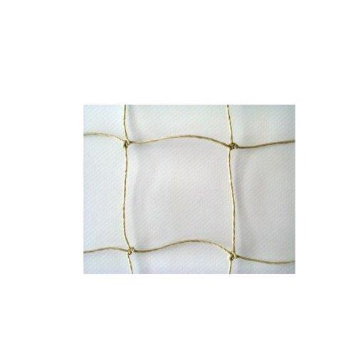 Netz steinfarben PE 50 x 50mm flammschutz B1