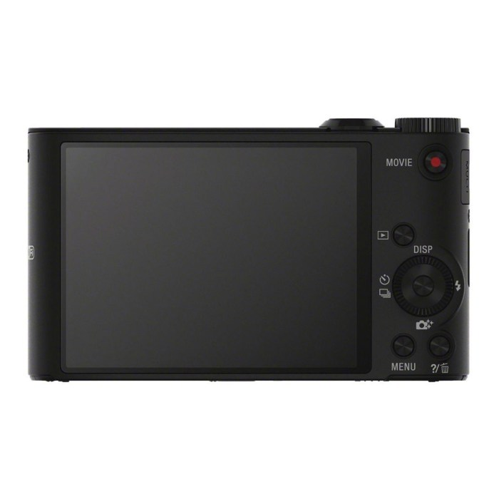 Sony-Cyber-Shot-WX350-Black - Back