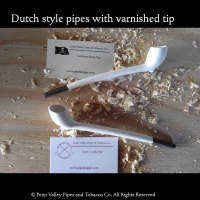 Dutch Pirate Pipe with varnished tip