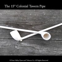 """The 15"""" tavern pipe in detail."""