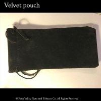 black velvet pipe pouch