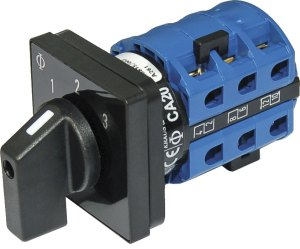 Blue Sea Systems 9010 AC Selector Switch, AC 120VAC 32A OFF 3