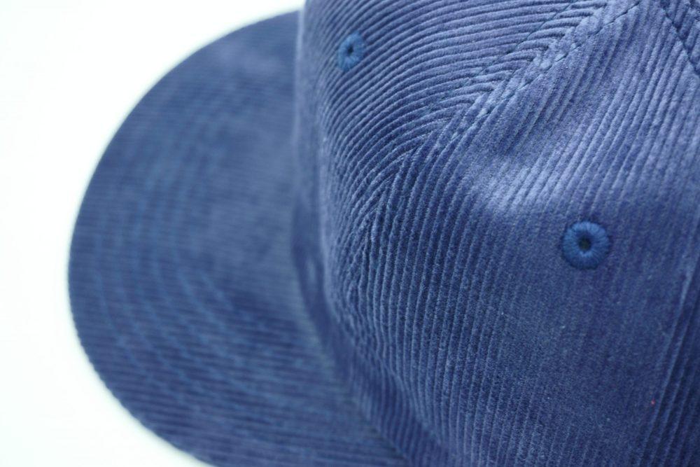 Logo Cap – Indigo Blue Washed-3