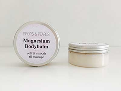 Magnesium Bodybalm fra Props & Pearls med magnesium
